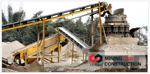 S series cone crusher complete crushing plant