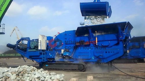 LD Series Track Mounted Mobile Crushing Plant